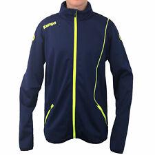 Kempa Herren Curve Classic Blau Trainingsjacke Sportjacke Joggingjacke XL