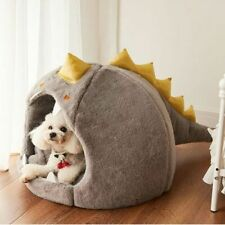 New listing Bed For Puppy Cat Dinosaur Trundle Place Dogs Folding Sofa Plaid Strange Bed's