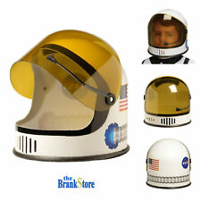 Kids Astronaut Helmet With Movable Visor Youth Halloween Space NASA Head Costume