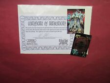 SET OF LADY DEATH  SERIES 2 CHROMIUM PROMO CARDS SIGNED PULIDO LIMITED 300 NEUF