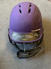 New Boombah Fastpitch Softball Helmet w/ Faceguard | Blue Sr(7-7-3/4)