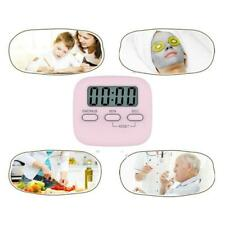 Digital Kitchen Timer Magnetic Countdown Loud Alarm Interval Plastic Funny Item