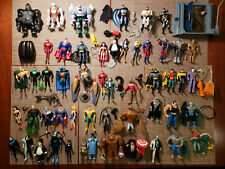 Batman Animated Series Justice League Unlimted Lot of 59 Figures RARE DC Comics
