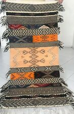 "Berber Picasso Moroccan Rug Carpet - Boho Design - Color Exquisite - 5'9"" x 2'4"""
