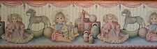 Vintage  Playpal  Dolls  Wall  Border   10 ROLLS!!!!ON SALE!!!!!!