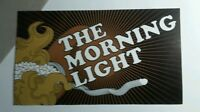 THE MORNING LIGHT THE SOUNDS OF LOVE BROWN WHITE 3x5..5 MUSIC STICKER