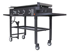 Blackstone 36 inch Outdoor Flat Gas Grill Griddle Station - Black