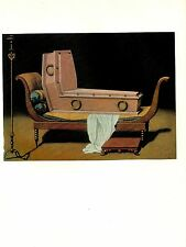 "1973 Vintage SURREALISM ""MADAME RECAMIER by DAVID"" RENE MAGRITTE Art Lithograph"
