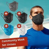 5er Pack UYN Community Maske Gesichtmaske Schutz Mund-Nasen-Bedeckung Unisex
