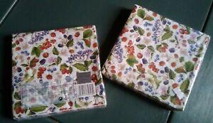 Gisela Graham Napkins - Fruit Design - 2 Packs of 20 Napkins xxx