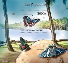 Butterflies III butterfly Comores 2011 s/s Mi. Bl.618 MNH #CM11103b