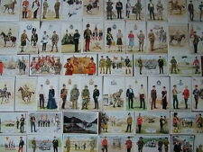 100+ Standard size Unused GEOFF WHITE, MILITARY Postcards.  Mint condition.