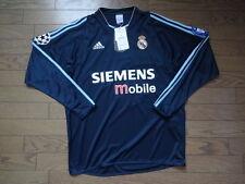 Real Madrid 100% Original Jersey Shirt 2003/04 Away M Still BNWT Long Sleeves