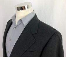 20c18218aa3 Hickey Freeman Loro Piana Gray Glen Plaid Wool Sport Coat Jacket 40R 42 2  Button