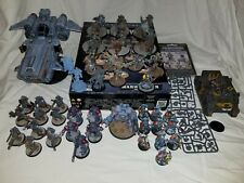 40k Space Wolves Army Lot Contemptor, Russ, Stormwolf, Thunderwolf, Grey Hunters