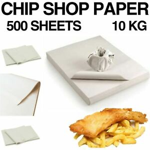CHIP SHOP PACKING NEWSPAPER PAPER 500 SHEETS OFFCUTS 10KG