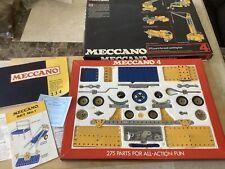 Meccano No 4 Set-Early 1970s.Nice Collectors Set