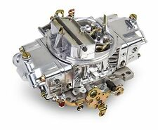 HOLLEY 0-4777SA CARBURETOR 650 CFM 4150 4 BARREL DOUBLE PUMPER GAS POLISHED