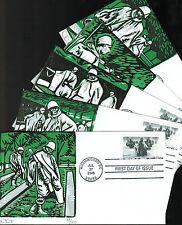 2003 - Dave Curtis -  Set of 5 Haunting Covers - Korean War - #3803