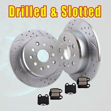 Rear Drill Slot Brake Rotors and Ceramic Pads kit GS300 IS300 GS400 GS430 SC430