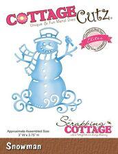 COTTAGE CUTZ ELITES DIES - Cutting die SNOWMAN - CCE-192 REDUCED CLEARANCE