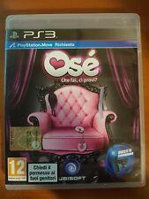 OSÈ - CHE FAI, CI PROVI? - PLAYSTATION 3 PS3 USATO