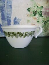 8 CORELLE Spring Blossom ~ Crazy Daisy pattern hook handle tea, coffee cups