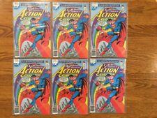 Set of SIX (6) Copies of Action Comics #503 by DC Comics, Superman  NM-