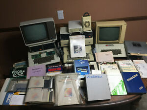 (2) Apple II+, (1) Apple IIe, Profile Harddrive, Extensive Software, Fan, etc.