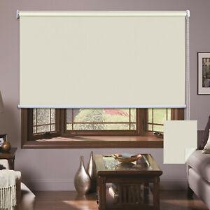 Roller Blinds Blackout Blockout Curtains Window Sunshade Mordern Room Darkening