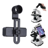 Universal Mobile Phone Microscope Lens Telescope Adapter Holder Connect Tripod
