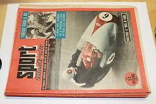 LO SPORT ILLUSTRATO NUMERO 37 ANNO 1954 GILERA DUKE