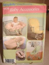 Simplicity BABY ACCESSORIES Seat Covers Pattern 4636