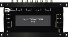 MULTISWITCH CENTRALE 9/8 DISEQC - 1SAT 1TER / MULTISCHALTER 8 RECEIVERS