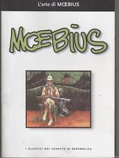 L'ARTE DI MOEBIUS i classici del fumetto di repubblica 37 jean giraud Mœbius gir