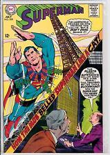 Superman #208  nm Adams