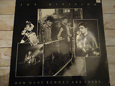 JOY DIVISION How Many Echoes Are There LP Unofficial Not On Label Shipping 4$