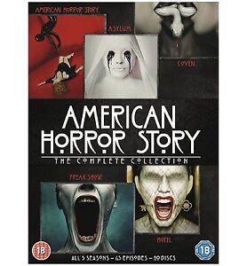 AMERICAN HORROR STORY COMPLETE SERIES 1-5 DVD Seasons 1 2 3 4 5 UK Release
