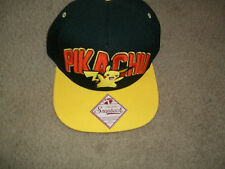 Pokemon Pikachu graphic  Baseball Hat adj snapback New