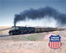 Union Pacific Big Boy Train Sturdy Metal Sign Logo Photo