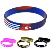 The American Silicone Bracelet USA Rubber Silica Gel Wristband Jewelry Bangle