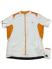 Pearl Izumi ELITE Pursuit Short Sleeve Jersey Men XLARGE White/Orange