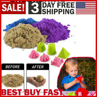 Free Shipping! 2lbs National Geographic 3 Multi-Color Kinetic Sensory Sand New