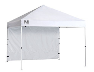Quik Shade Commercial 10 x 10 ft. Straight Leg Canopy White