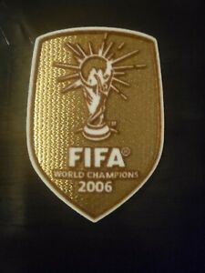 World Cup Champions Winner 2006 Patch Italy Italia Soccer Football Badge Parche