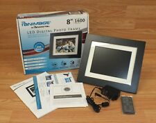 """Panimage By Pandigital 8"""" LED Digital Photo Frame Store Up to 1600 Images *READ*"""
