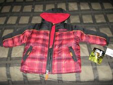PACIFIC TRAIL 18M KIDS HOODED JACKET-100% POLYESTER - NEW WITH TAGS