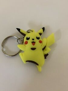 Pikachu Double Sided Keyring Keychain Pokemon Collectible