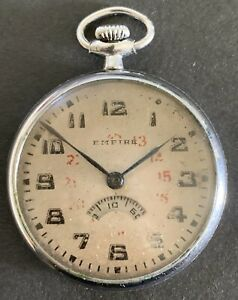 1930 Seikosha/Seiko Empire WWII Military Bomber Seco-meter Watch.  Rare.🌪☀️