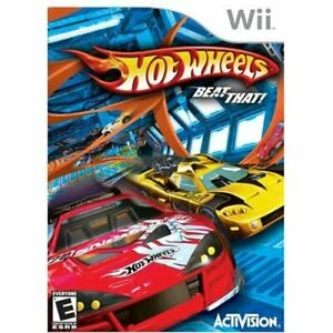 Hot Wheels Beat That For Wii Flight Game Only 0E